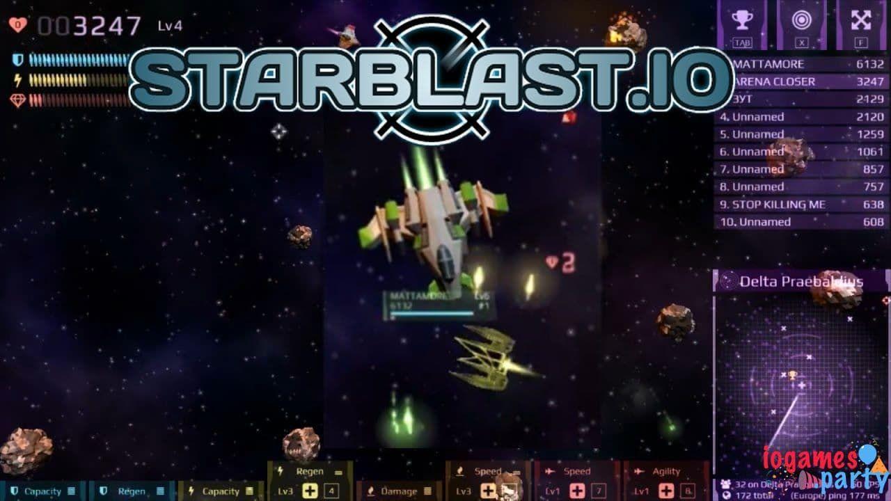 starblast tusjuegos.io juegos io juegos gratis