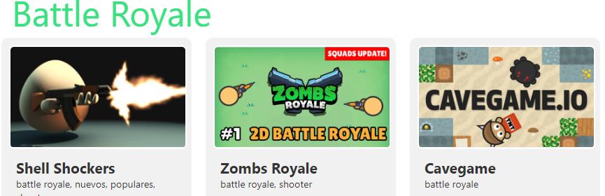 Mejores juegos io Battle Royale tusjuegos.io juegos io juegos gratis